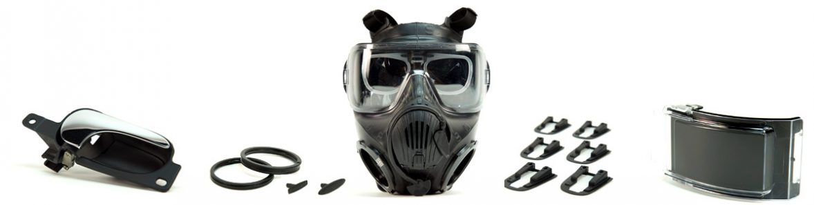gas mask and products
